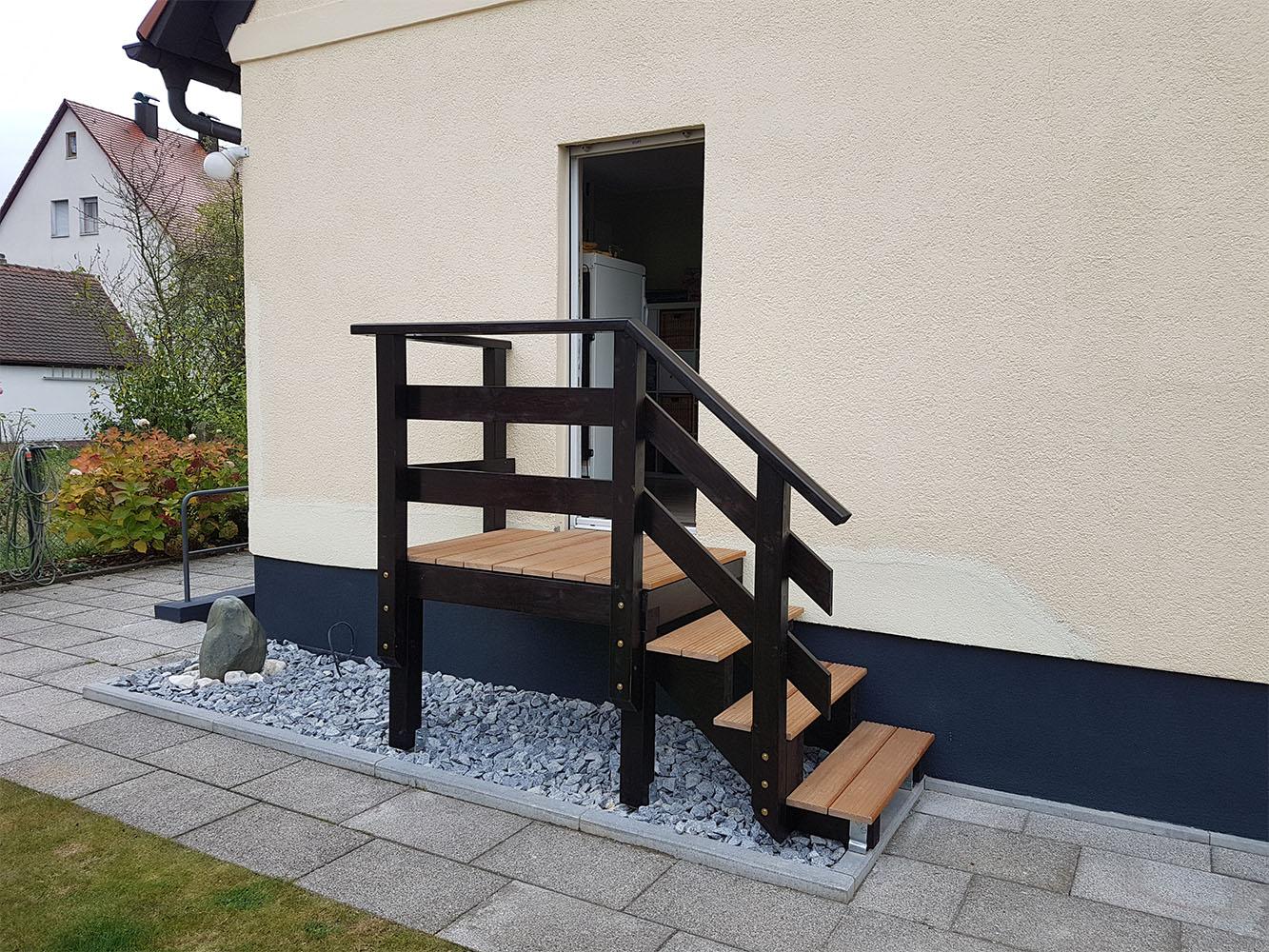 Treppe & Geländer Nürnberg   Schreinerei Frank Ultsch In Ottensoos, Außentreppe
