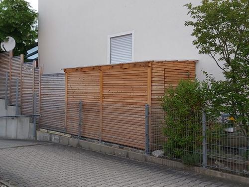 Zaunanlage Röthenbach, Schreinerei Ultsch