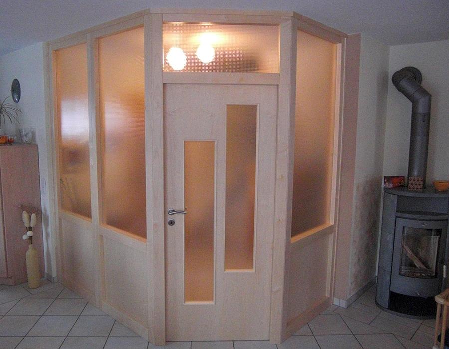 Zimmertüren Nürnberg, Holz-Glas-Tür, Schreinerei Frank Ultsch Ottensoos